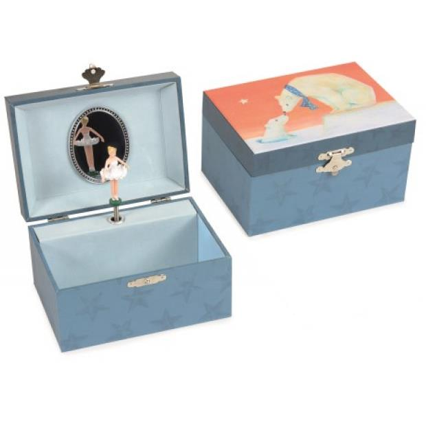 Musical Jewellery Box - Polar Bear