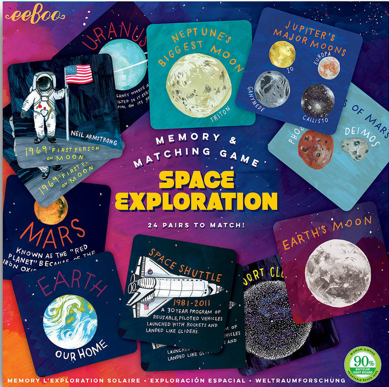 Space Exploration Matching & Memory Game