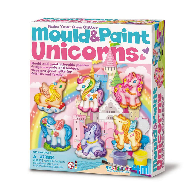 4M Mould & Paint - Glitter Unicorn