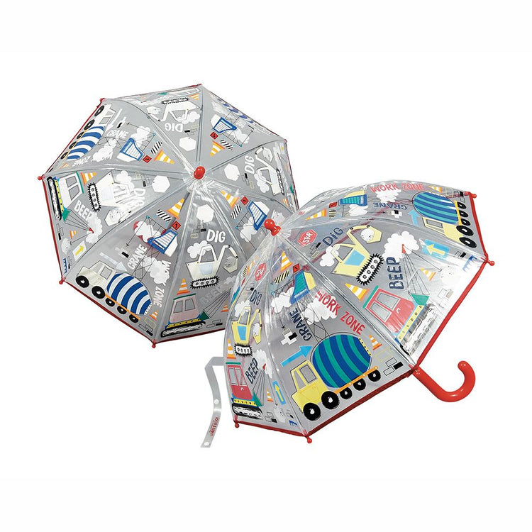 Construction Colour Changing Umbrella by Floss & Rock