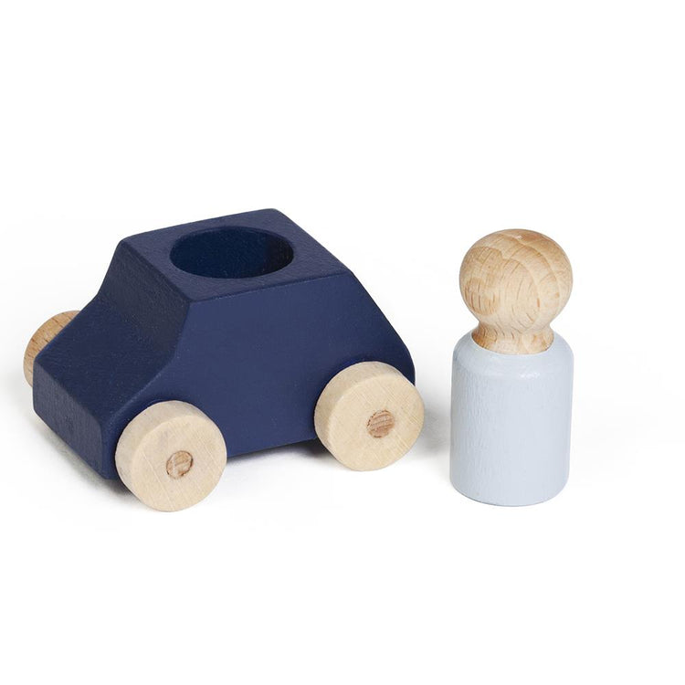 Lubulona Wooden Toy Car - Blue
