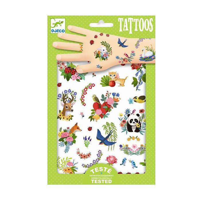 Face Stickers & Tattoos - Tattoos - Happy Spring