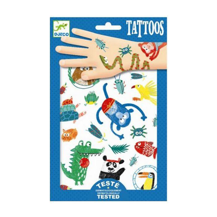 Face Stickers & Tattoos - Tattoos - Snouts