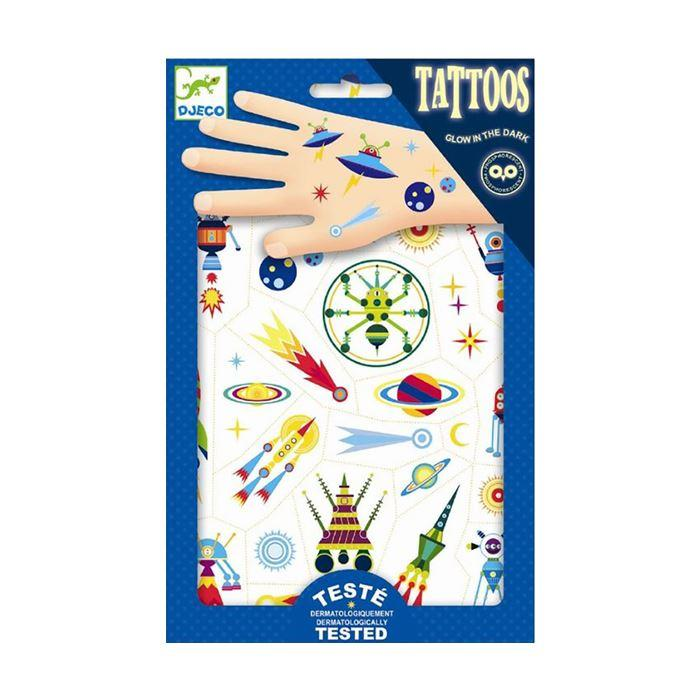 Face Stickers & Tattoos - Tattoos - Space Oddity