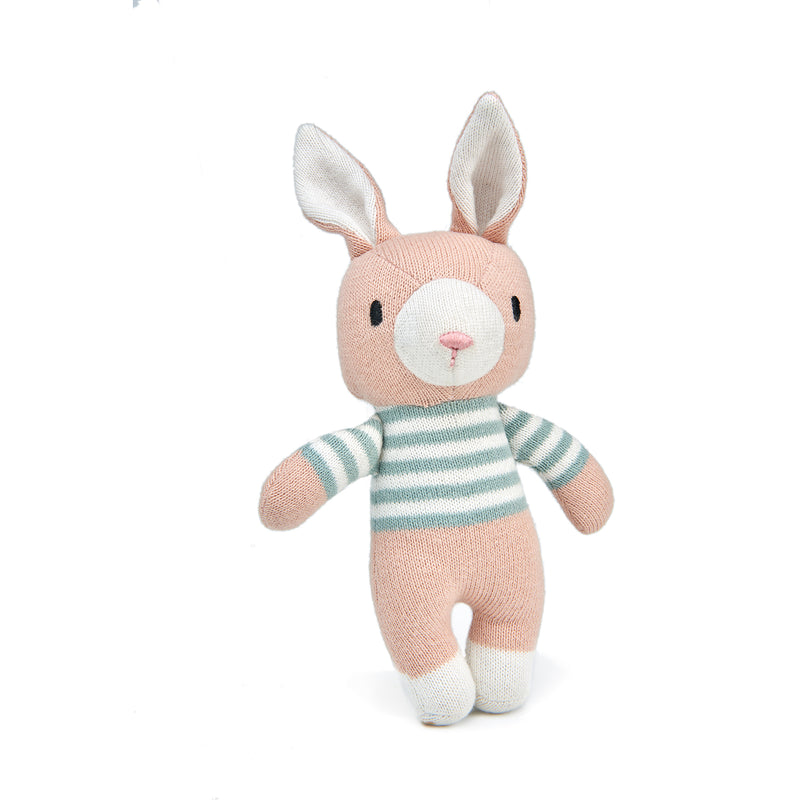 Finbar The Hare Knitted Toy