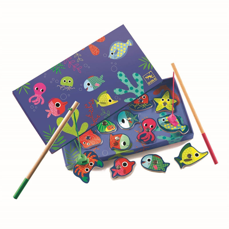 Magnetic Colourful Fishing Game