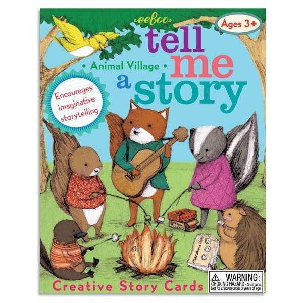 Games - Tell Me A Story - Animal Village - Story Cards