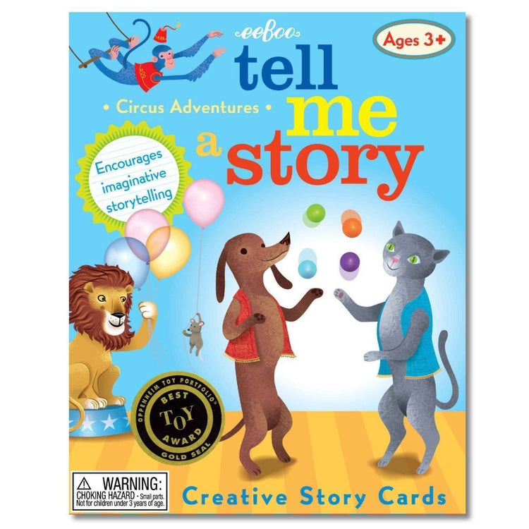 Games - Tell Me A Story - Circus Adventures - Story Cards