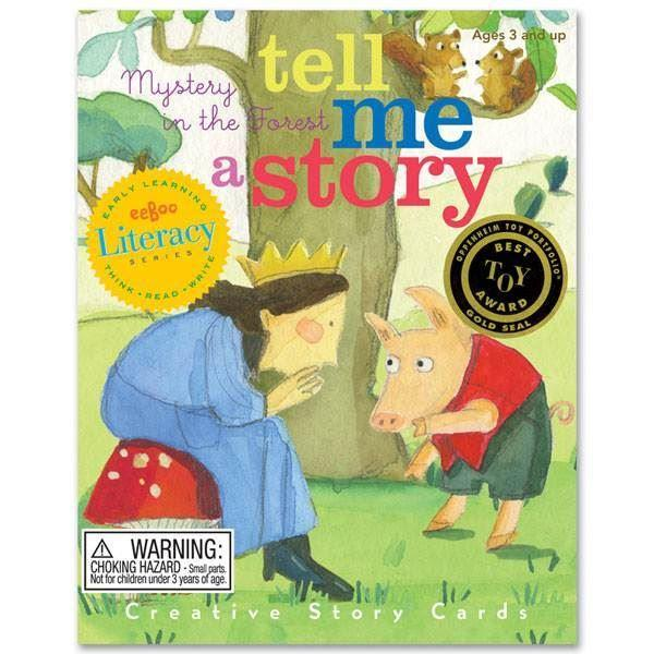 Games - Tell Me A Story - Mystery In The Forest - Story Cards
