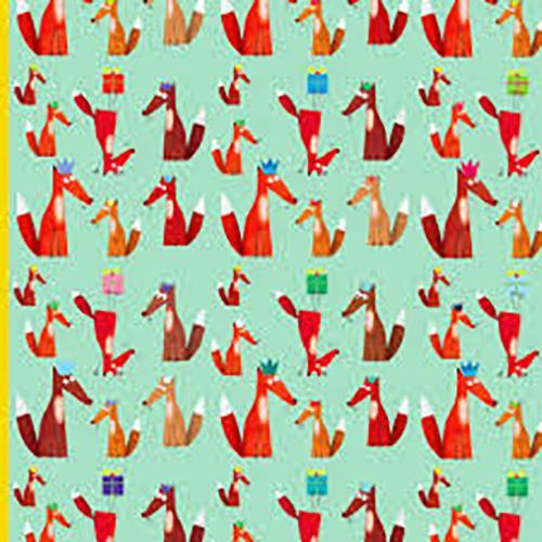 Gift Wrap - Gift Wrap - Foxes