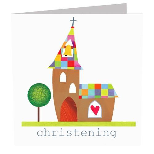 Greeting Cards - Christening Card