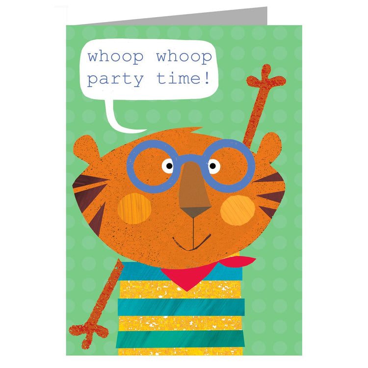 Greeting Cards - Happy Birthday Card - Tiger