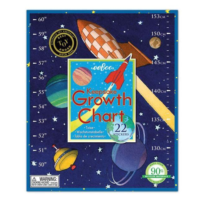 Height Charts - EeBoo Space Height Chart