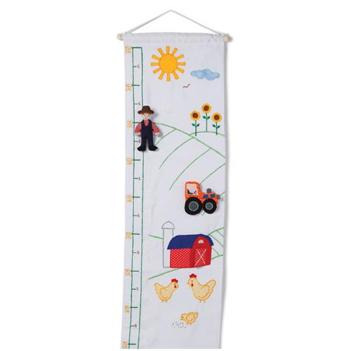 Oskar & Ellen Fabric Farm Height Chart