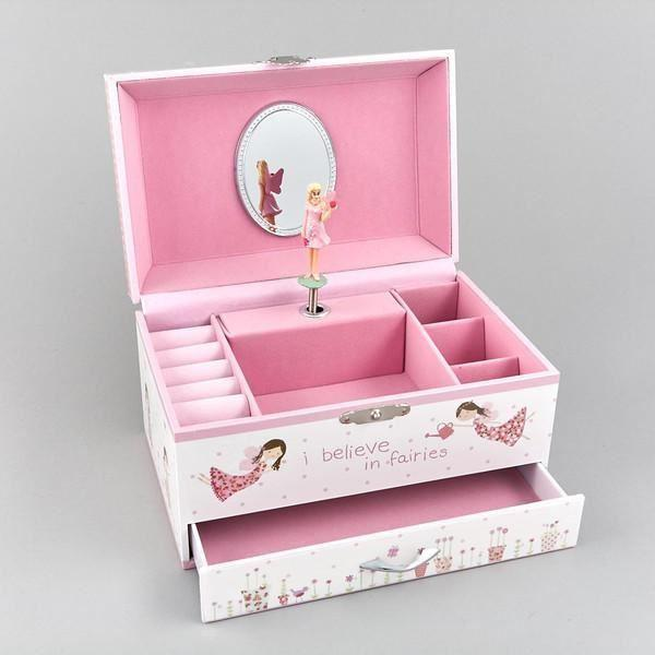 Jewellery Boxes - Fairy Blossom Musical Jewllery Box By Floss & Rock