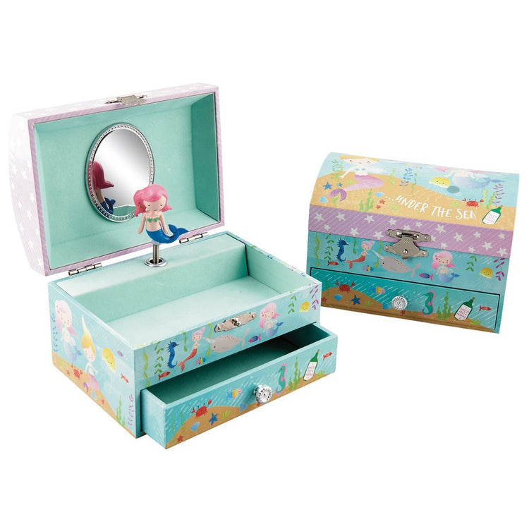 Jewellery Boxes - Mermaid Musical Jewellery Box