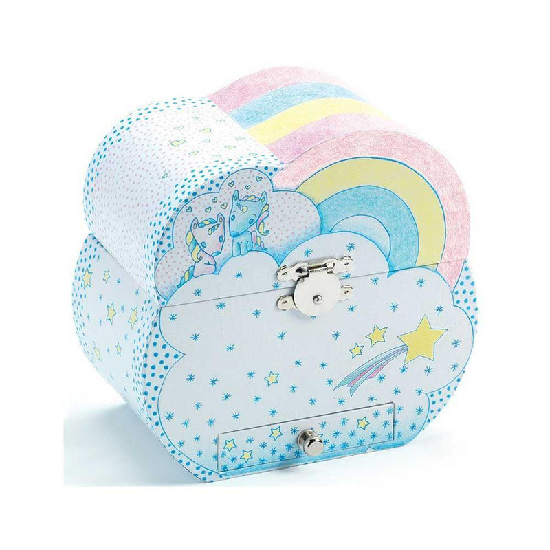 Musical Jewellery Box - Dreams of Unicorn