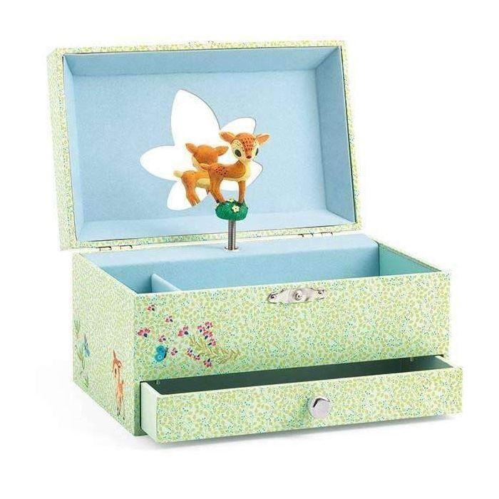 Jewellery Boxes - Musical Jewellery Box - The Fawn Song