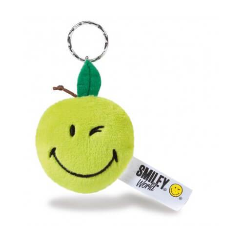 Smiley Apple Plush Keyring by NICI