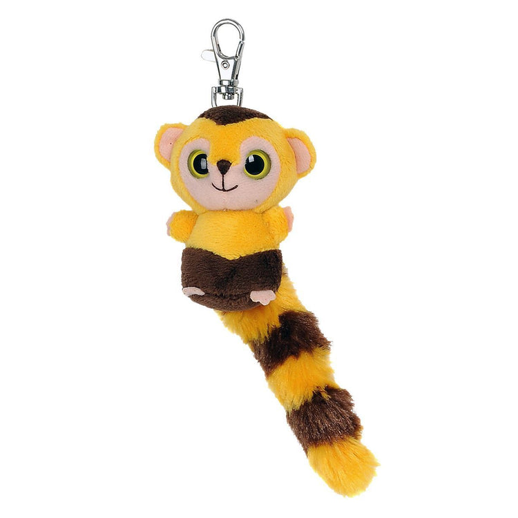 "Keyrings - Yoohoo & Friends 3"" Roodee Capuchin Monkey Clip-on / Key Clip"