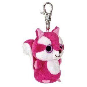 "Keyrings - Yoohoo & Friends 3"" Squirrel Clip-on - Chowoo"