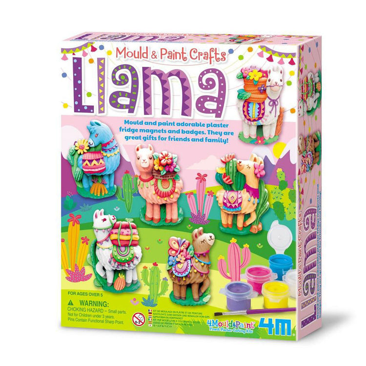4M Mould & Paint - Llamas