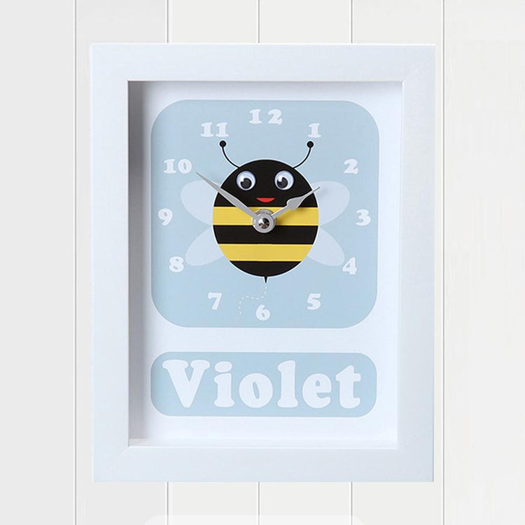 Personalised - Clocks - Bert Bee Personalised Clock