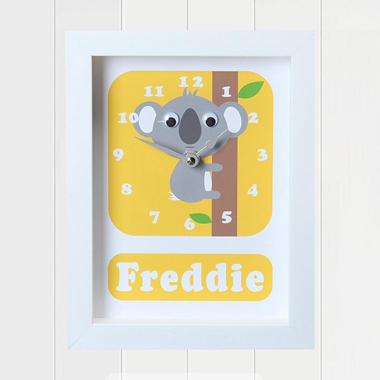 Personalised - Clocks - Kimmy Koala Personalised Clock