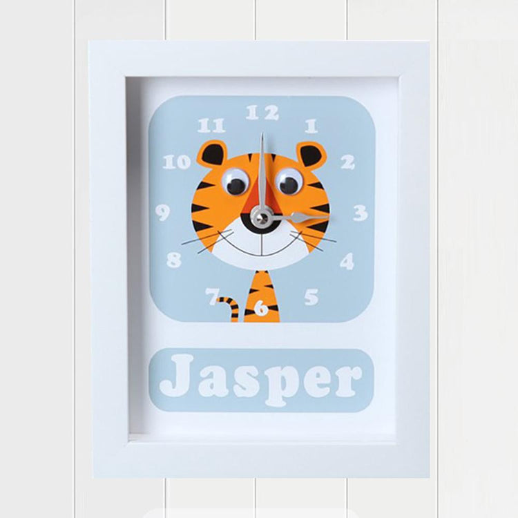 Personalised - Clocks - Terrance Tiger Personalised Clock