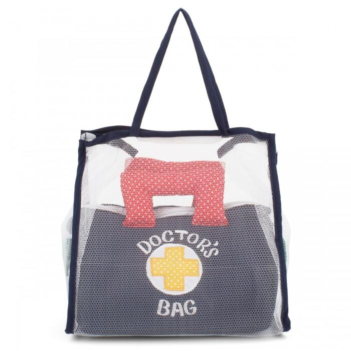 Oskar & Ellen Fabric Doctors Bag