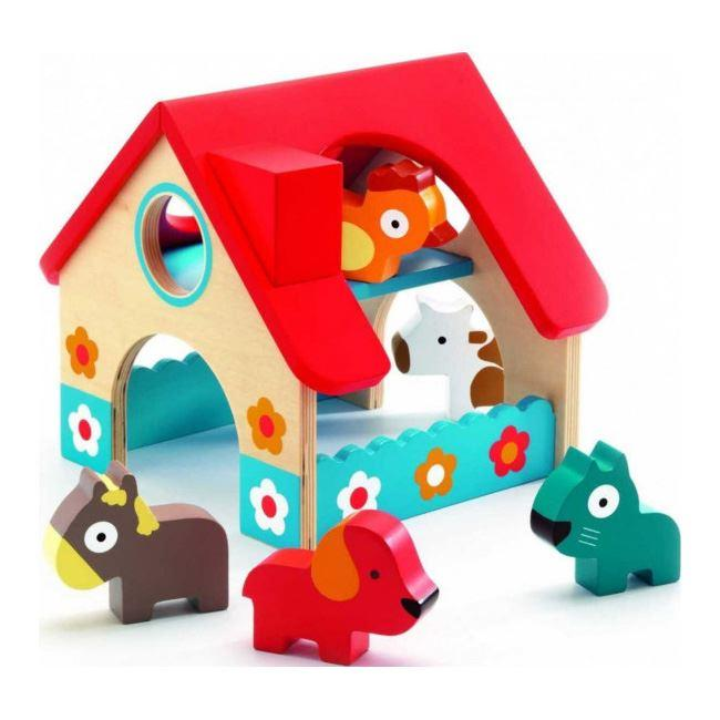 Pretend Play - Djeco Wooden Mini Farm