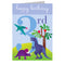 3rd Birthday Card - Dinosaurs - I Want That Present