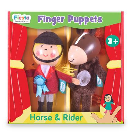 Puppets - Horse And Rider Finger Puppet