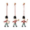 Maileg Christmas Decorations - 3 Metal Soldiers in a Box