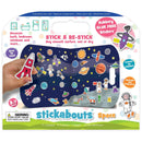 Space Stickabouts - Reusable Stickers