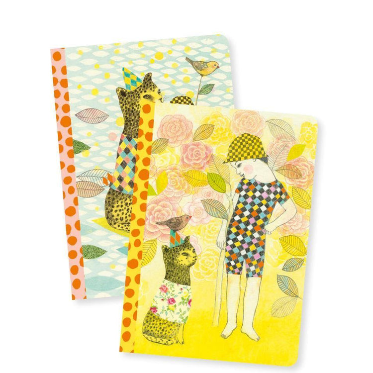 Stationery - A6 Notebooks X2 - Elodie