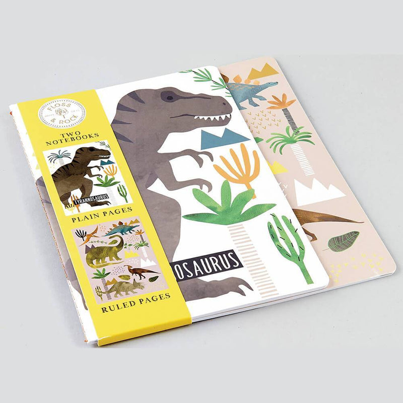 Dinosaur Notebooks by Floss & Rock