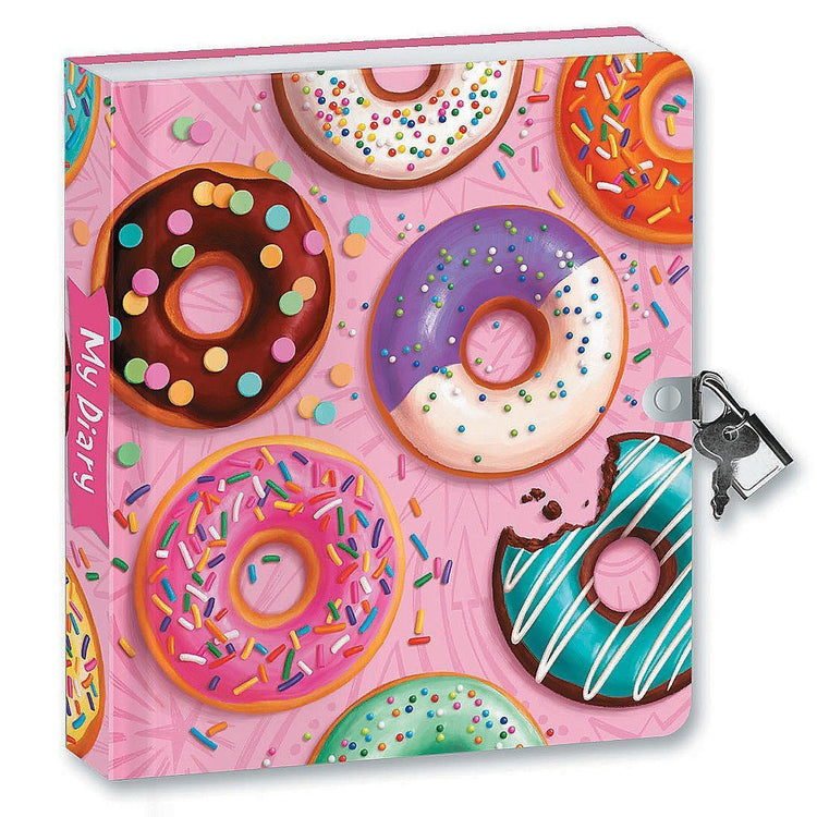 Stationery - Donut Lockable Journal
