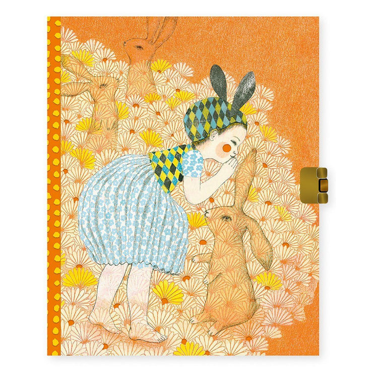 Stationery - Lockable Notebook - Elodie