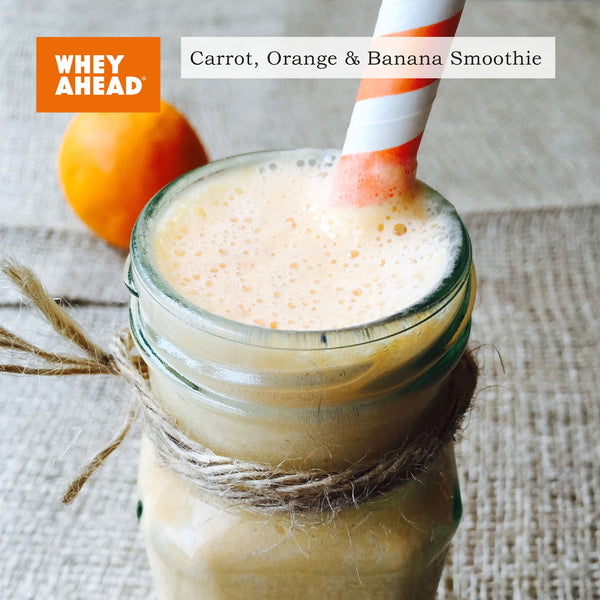 Carrot, Orange and Banana Smoothie