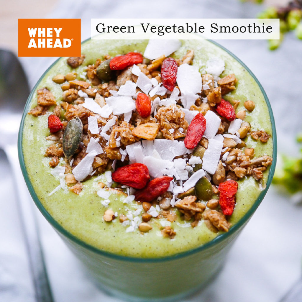 Green Vegetable Organic Protein Smoothie
