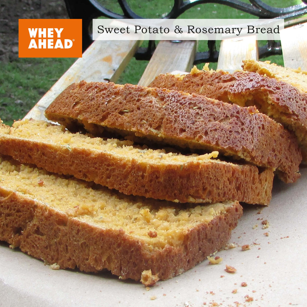 Sweet Potato and Rosemary Organic Protein Bread