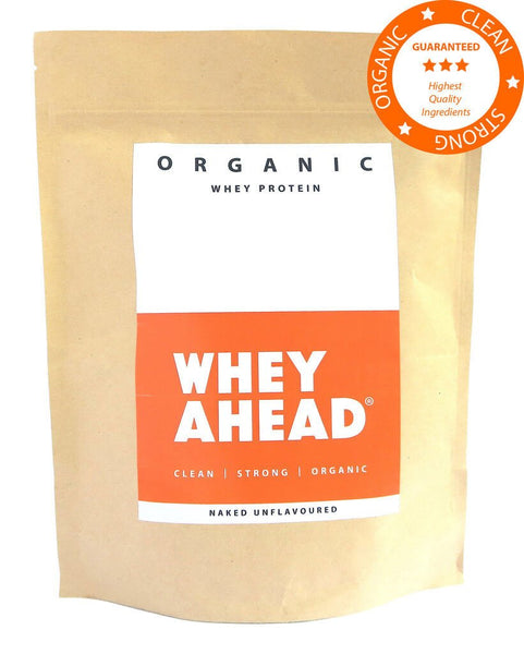 500g Naked/Unflavoured Organic Whey Protein Powder Pouch
