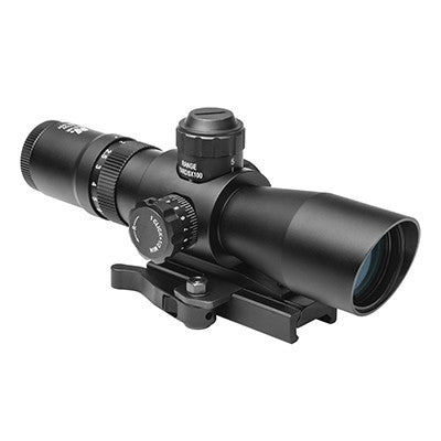 NcStar 2-7X32 MarkIII Series Scope; Red & Green Mil-Dot