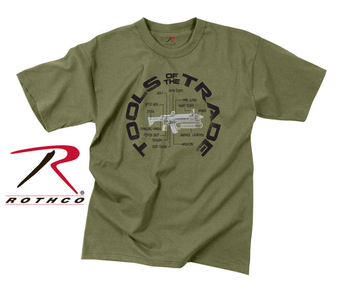 Rothco Vintage Tools Of The Trade T-Shirt - OD