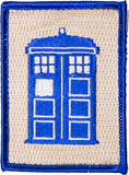 Doctor Who TARDIS Patch