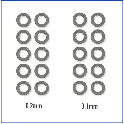 ASG - Ultimate Shim Set (0.10mm, 0.20mm)