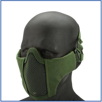 Bravo V3 Iron Face Half Mask