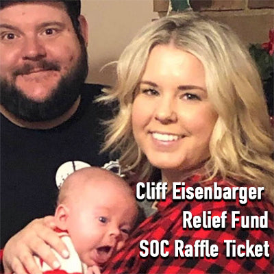 Cliff Eisenbarger Relief Fund SOC Raffle Ticket