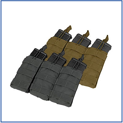 Condor Triple M4 Open Top Pouch